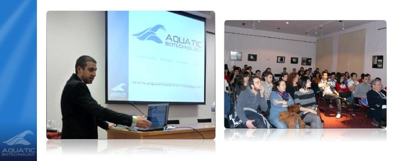 Conferencia de Aquatic BioTechnology en Jerez