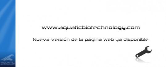aquaticbiotechnology.com vuelve renovada y hablando inglés