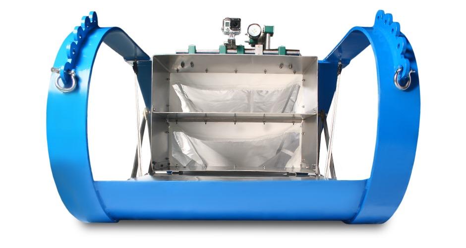 patín epibentónico EP1290 x2, equipos oceanograficos